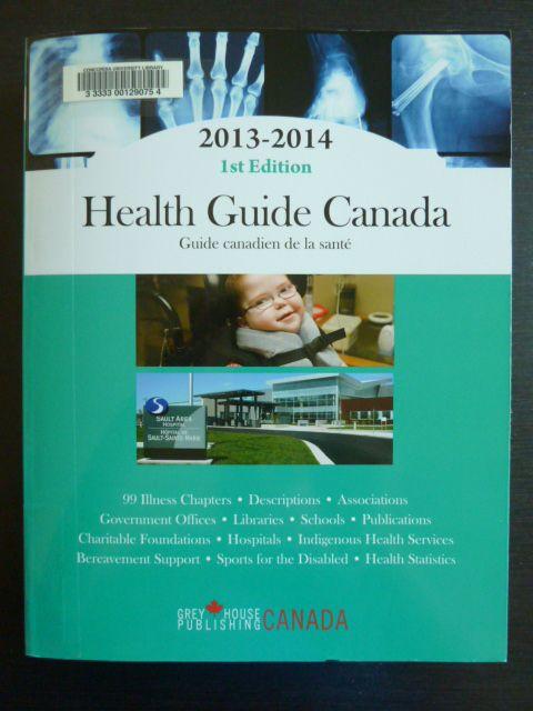 Health guide Canada= Guide canadien de la sante?.
