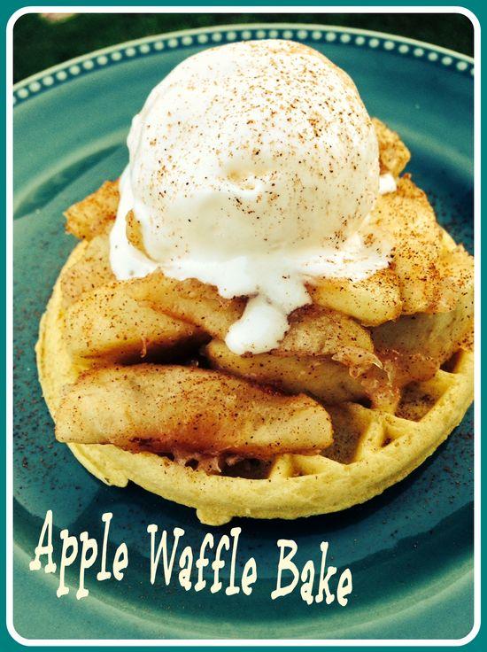 Apple Waffle Bake Recipe