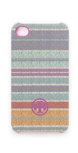 Tory Burch Baja Stripe iphone case