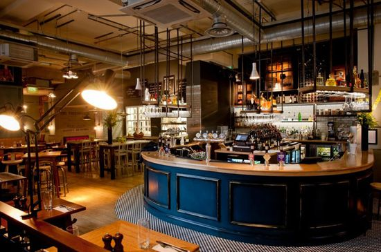 The Tokenhouse restaurant bar by Harrison, London