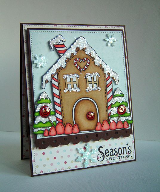 So festively sweet! #cards #card_making #Christmas