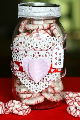 Candy Jars...for love day!