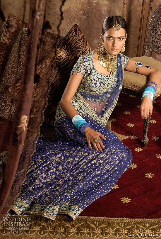 Tarun Tahliani's exquisite bridal lehenga collection.
