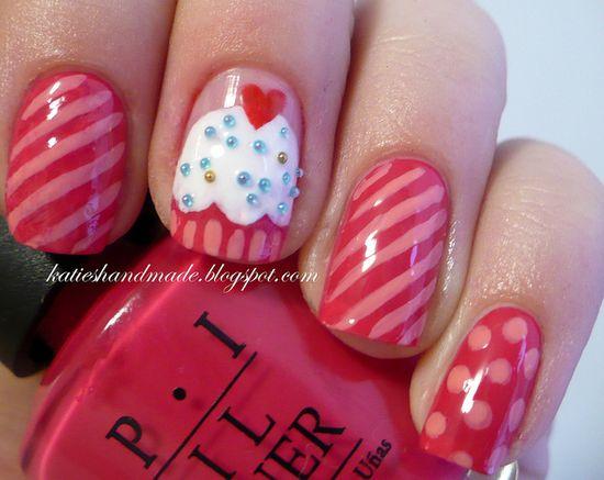 Cupcake nails ?