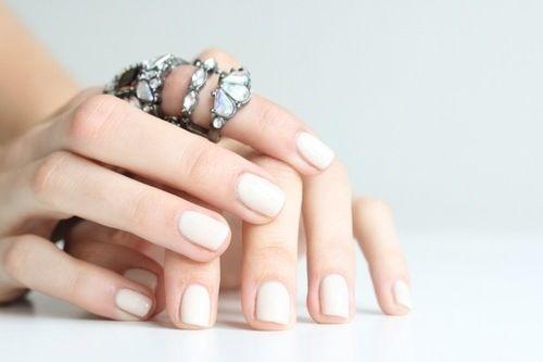 clean white polish