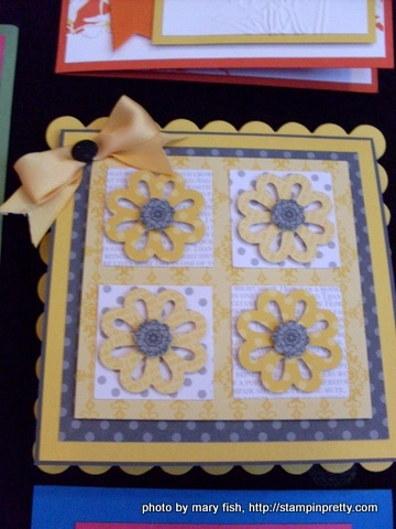 Stampin' Up! Peeks & Card Ideas from the Cruise - Stampin' Up! Demonstrator - Mary Fish, Stampin' Pretty Blog, Stampin' Up! Card Ideas & Tutorials
