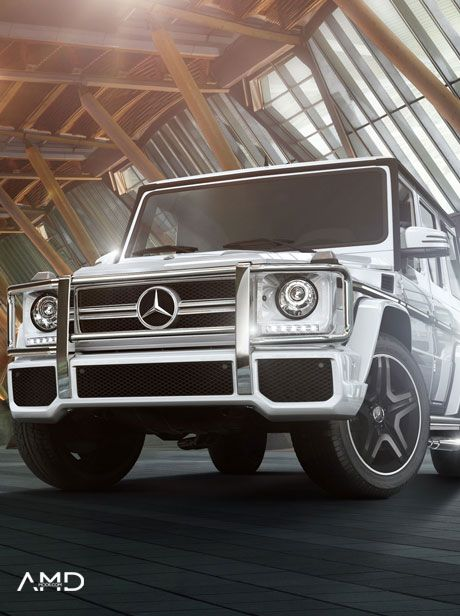 AMDMODE - Car of the week: Mercedes-Benz G CLASS    Read on and find out how it developed through time!