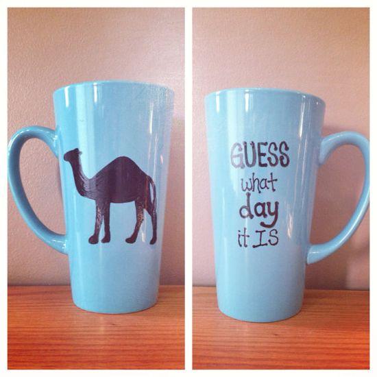 NEED - Blue hump day mug on Etsy, $13.50
