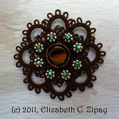 tatting with beads