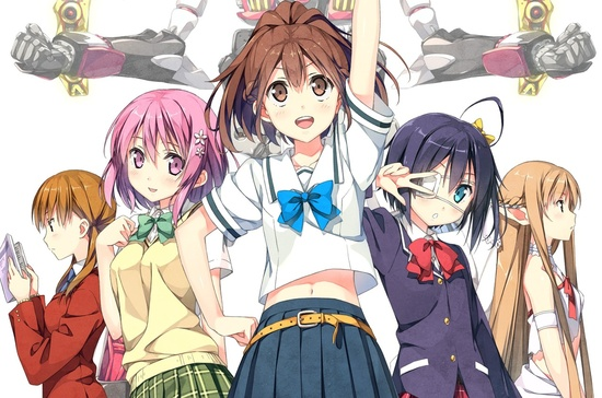Girls of 2012 Fall anime.