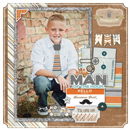 Swagger paper line by Fancy Pants Designs Layout