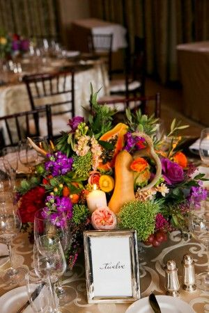 Colorful-Fruit-and-Vegetable-Wedding-Centerpiece