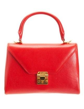 50 Dream Handbags: mark cross scottie small satchel, $1,950 #handbags, #handbags galore, #purse, #evening bag, #designer bags, #valentino bags, #party bags.