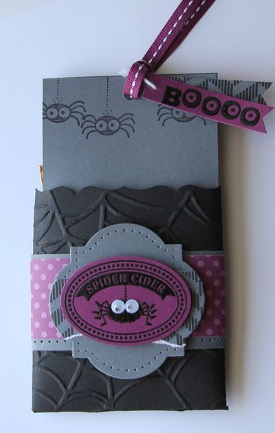 Stampin' Up! Halloween Fancy Favor Box  by Heather Summers