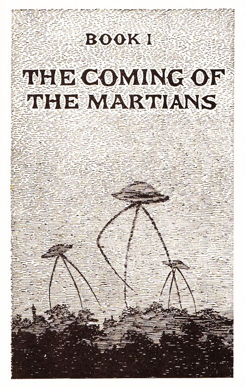 In 1960, Edward Gorey illustrated H. G. Wells's The War of the Worlds