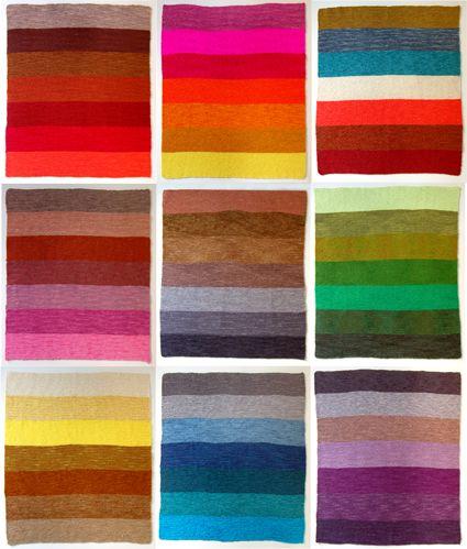 Garter stitch blanket. make yourself!