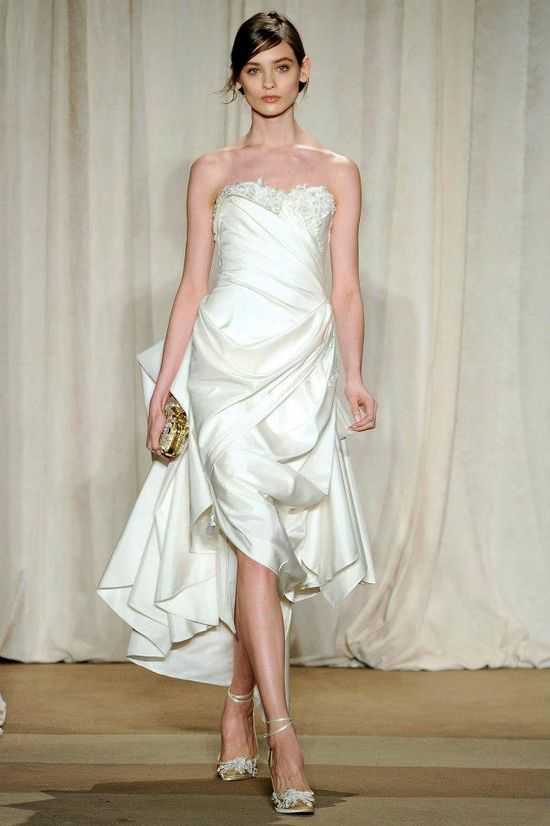 Marchesa Fall 2013 COllection Wedding Dress #wedding #gown #bridal