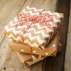 This Holiday Gift Wrap DIY is a simple and inexpensive way to make your packages festive and personal.