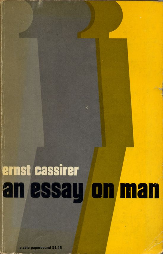 An Essay on Man, book cover, 1962