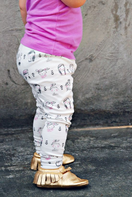 Sophie & Lili + House of Mia collaboration ORGANIC cotton leggings (LIMITED EDITION)