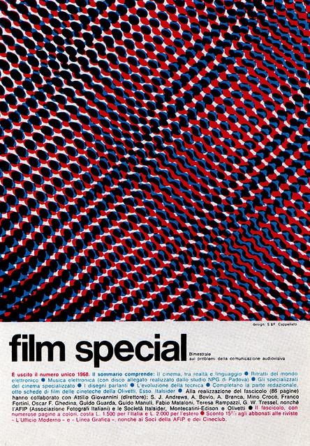 1969 Magazine Advertisement, by Studio S & F Cappellato, Milan, Italy