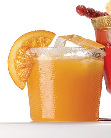 Sparkling Cider and Cara Cara Orange Punch Recipe #drinks