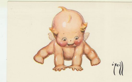 Rose O'Neill Kewpie Card 1976