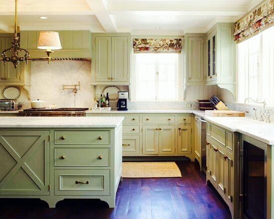 Lake House Modern Kitchen Design