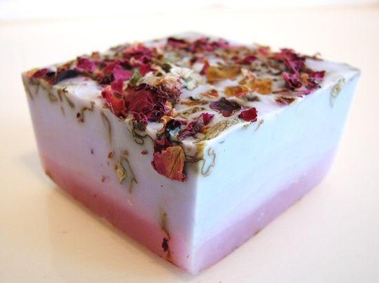 lilac rose vegan handmade soap, $5, DeShawnMarie @ Etsy