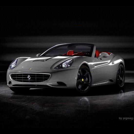Sexy Ferrari California Spyder. One of my dream cars! Just in red, mmm...