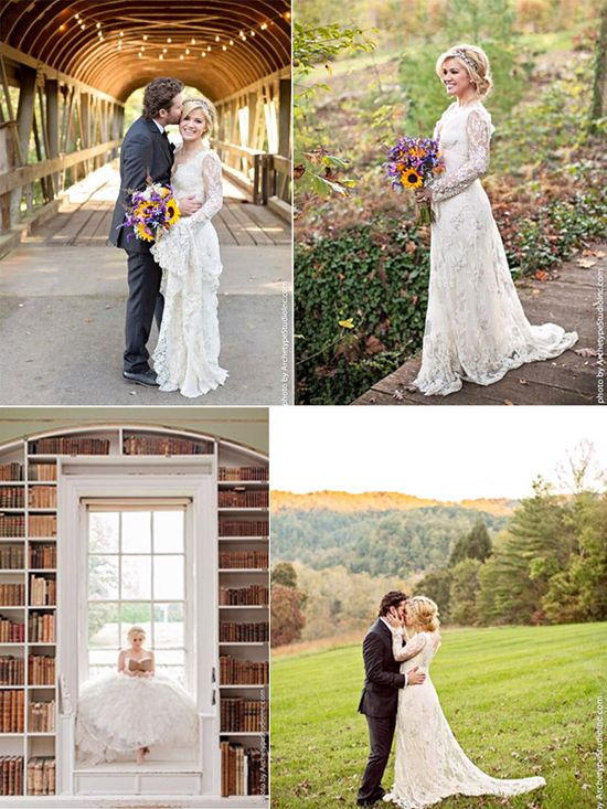 Kelly Clarkson and Brandon Blackstock Wedding Photos