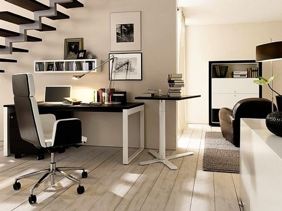 Home Office Design with Furniture-5
