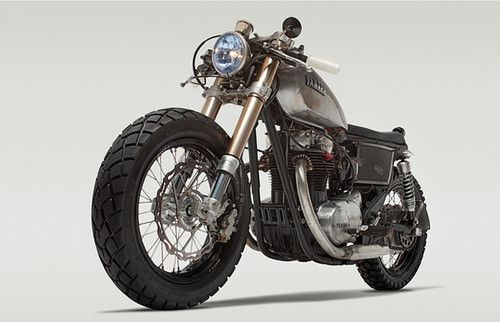 RE-PIN THIS!!! www.cardosystems.... Yamaha XS650 cafe racer