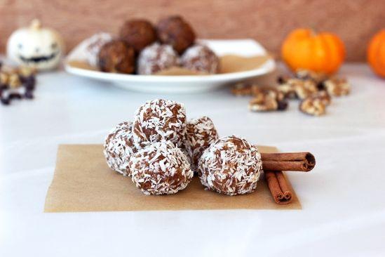 pumpkin spice cookie balls