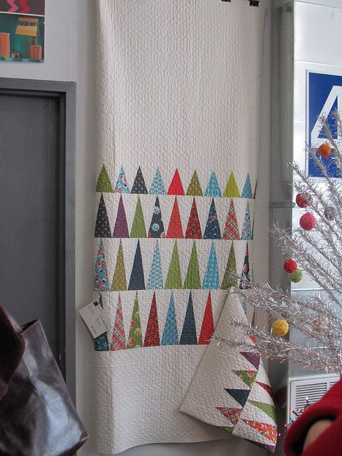Christmas Tree Quilt....how great is this?!