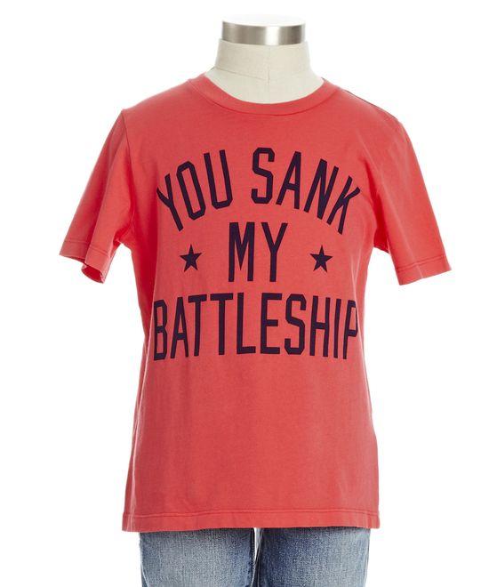 Sank My Battleship Tee - new arrivals