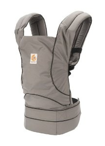 Ergobaby Travel Collection Baby Carrier - Urban Chic- Graphite