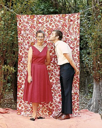 Fabric photo booth, love the idea of a photo booth at parties.