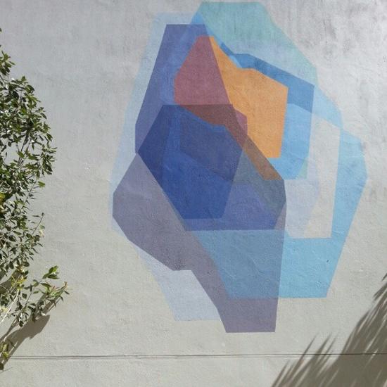 Mural at the Woodstock Exchange. by skinnylaminx
