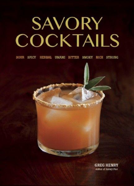 Savory Cocktails recipe book