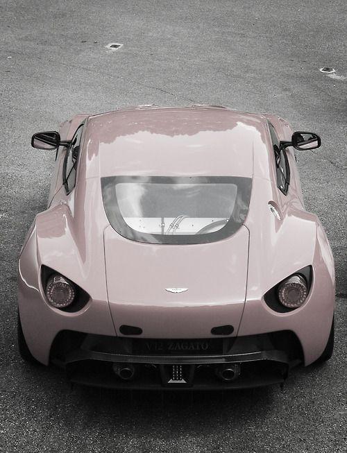 grey pink car