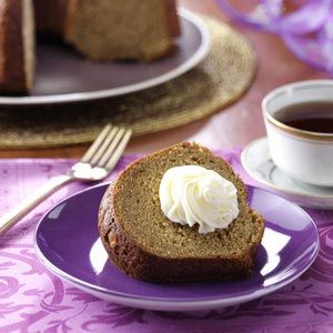 Sweet Potato Pound Cake with Marshmallow Frosting Recipe