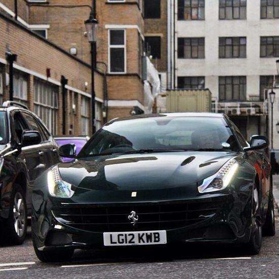 Wonderful Black FF #Ferrari