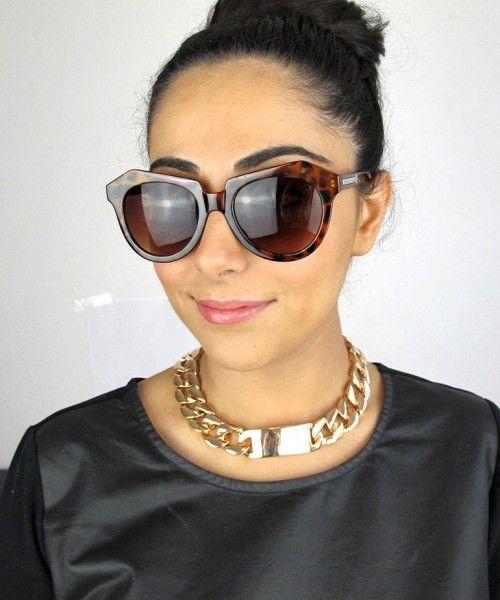 Vintage Styled Geometric Sunglasses