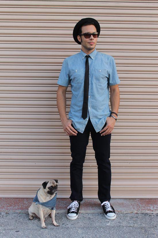 #Menswear #mens #fashion #pug