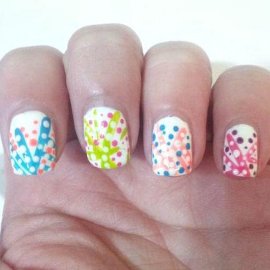 {Easy Nail Art} nails nails nails nails nails