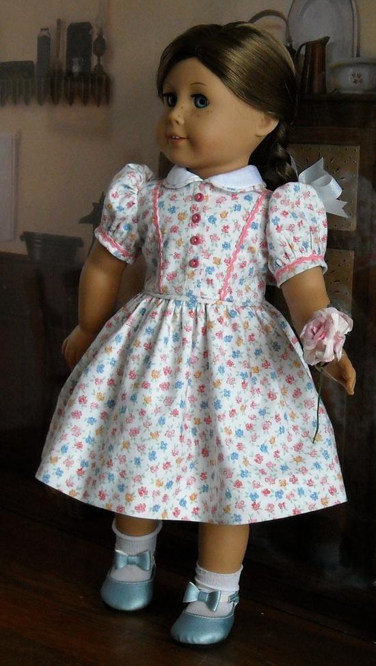 Classic 30's cotton dress