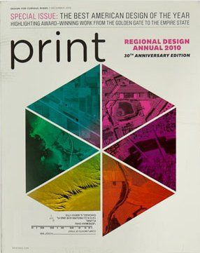Cover for Print Magazine.