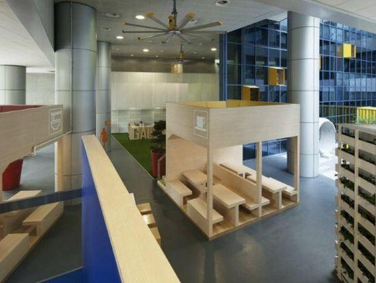 Modern School Interior