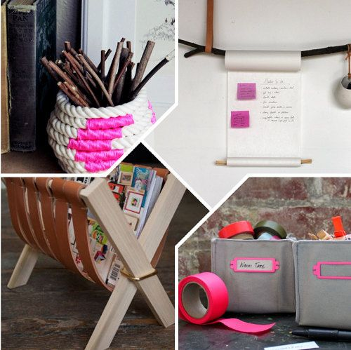 DIY Best Of Organization...tons of ideas here, love this!